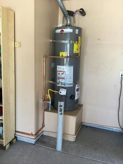 A room after our water heater repair services in Eugene, OR