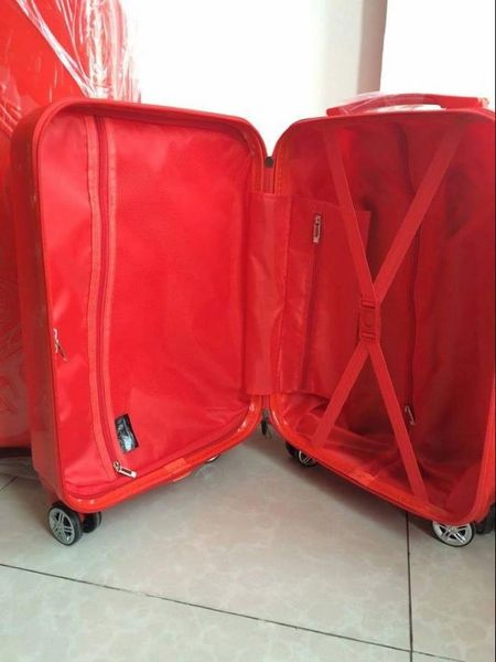 Diva Collection Carry on Red Luggage
