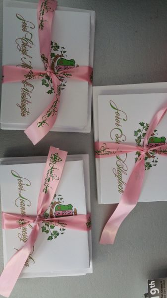 Alpha Kappa Alpha Personalized Note cards