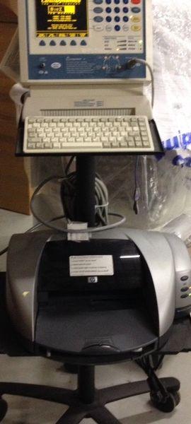Cardio Dynamics BZ-4110-121 BioZ Portable Hemodynamic ICG Patient Monitor