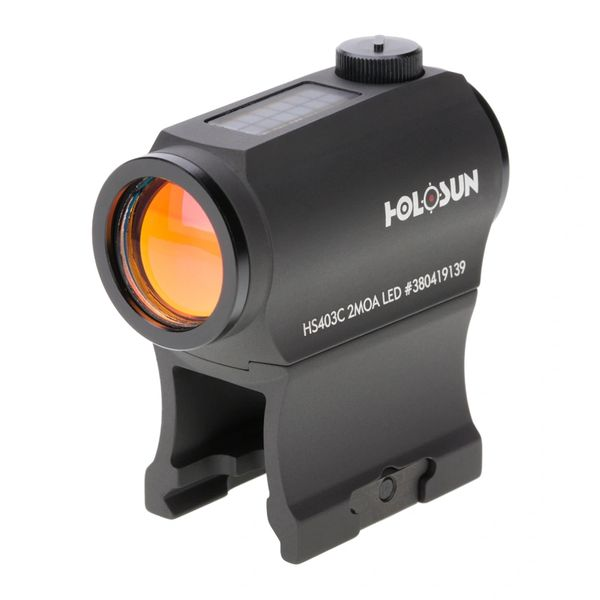 Holosun® Solar Failsafe™ HS403C Micro Red Dot Sight 2MOA