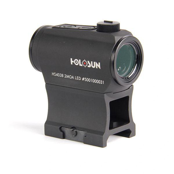 Holosun® Shake Awake™ HS403B Micro Red Dot Sight 2MOA