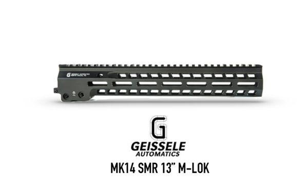 "MK14 Super Modular Rail (13""), MLOK, Black Finish Geissele Automatics"
