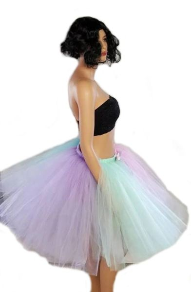 316f3b30a6 Adult or Child Pastel Rainbow Tutu | Your Resource for Custom Made Tutus |  BB's Boutique