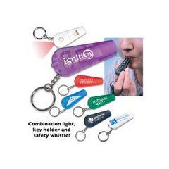 Light 'N Whistle Key Chain / ITEM# KC84671