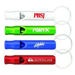 Aluminum Whistle Key Chain / ITEM# KC84424
