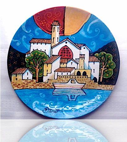 White Boat - Ceramic (Sold)