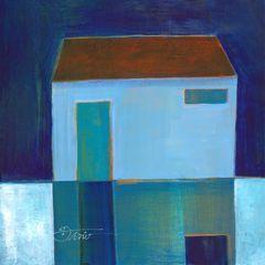 Blue Moon- Acrylic on Paper 53301