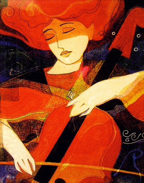 Cellist - Print