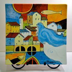 Doves - Ceramic (Sold)