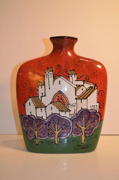 Pink Trees - Ceramic (Sold)