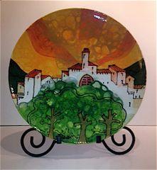 Green Trees - Ceramic