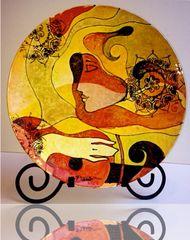 Musician - Ceramic - Sold