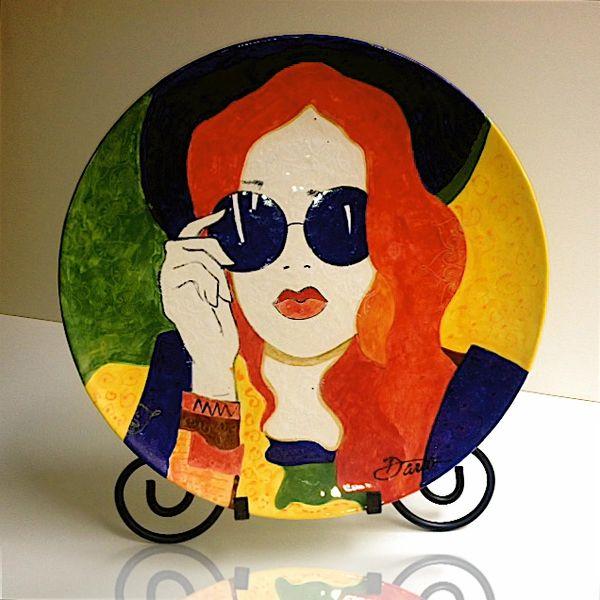 Blue Sunglasses - Ceramic