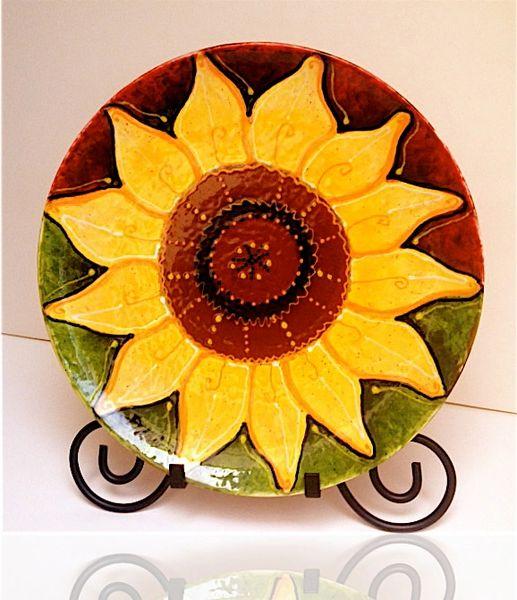 Sunflower - Ceramic