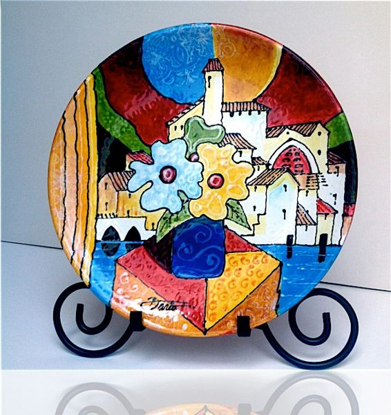 Beautiful Landscape - Ceramic