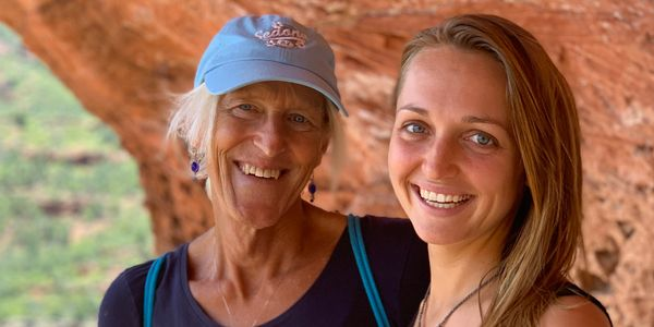 Annie & Kelly, near Boynton Canyon, Sedona, AZ