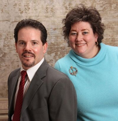 Barbara P Hugghes & Gregg Nicholas of the Nicholas Team at Village Square Realtors