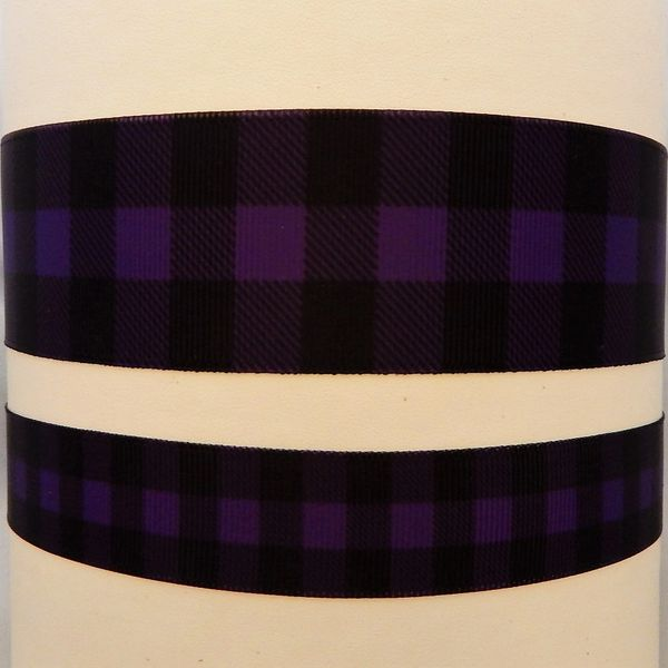 Buffalo Plaid - Dark Purple