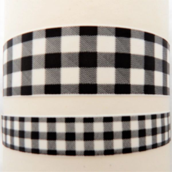 Buffalo Plaid - White