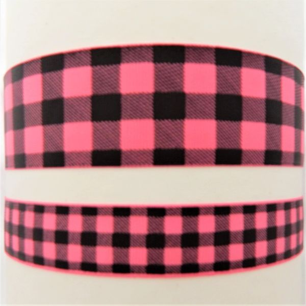 Buffalo Plaid - Hot Pink