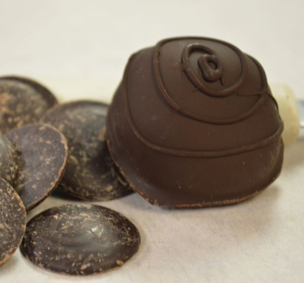 Orange Diabetic Friendly Dark Chocolate Truffle