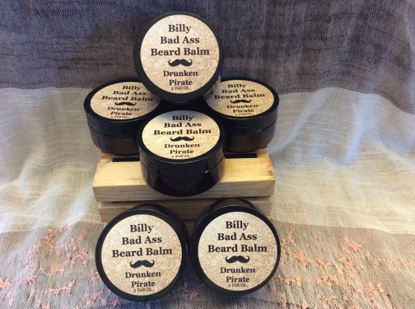 2 Oz. Drunken Pirate Beard Balm