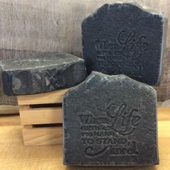 Activated Charcoal & Tea Tree Acne Soap