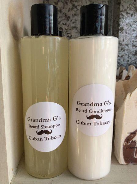 Cuban Tobacco Beard Shampoo