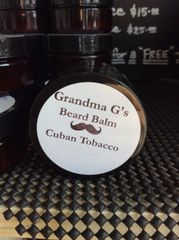2 oz. Cuban Tobacco Beard Balm