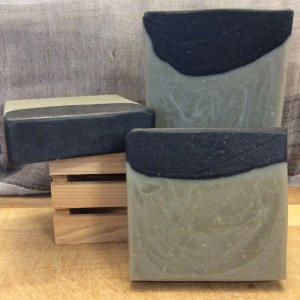 Activated Charcoal & Sea Clay Soap