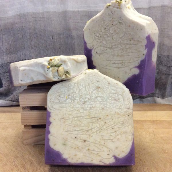 French Jasmine & Lavender Luxury Bath Soap