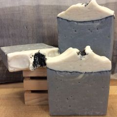 Sea Salt & Activated Charcoal Soap
