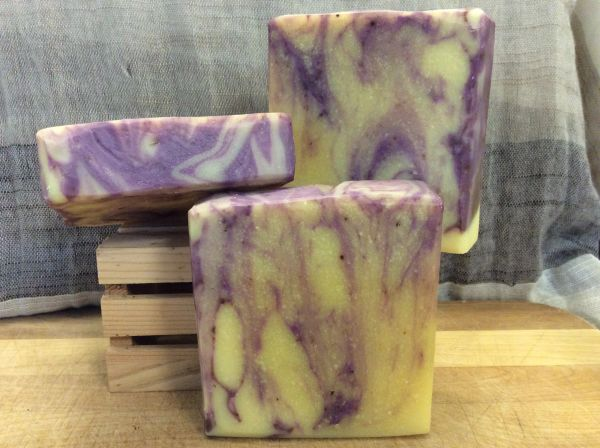 Lavender & Lemon Yogurt Soap