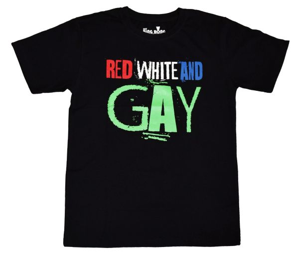Red White and Gay T Shirt