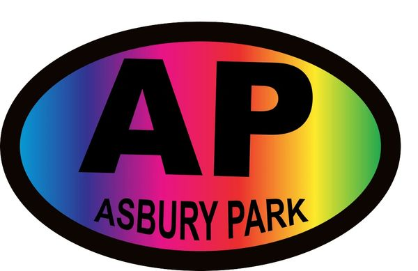 Asbury Park Car Sticker