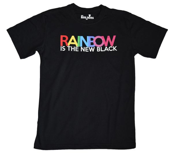 Rainbow is the New Black Shirt