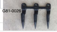 3 Prong guard used on John Deere 200 and 900 heads