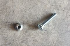 Section Head Bolts 1""
