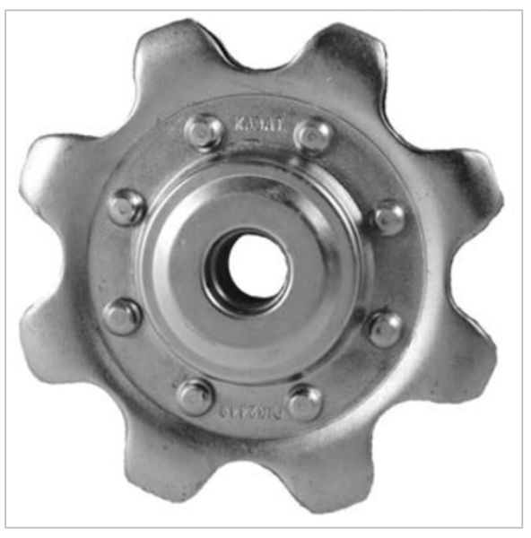 AAN102448 Lower Idler sprocket Fits JD, CIH and New Holland