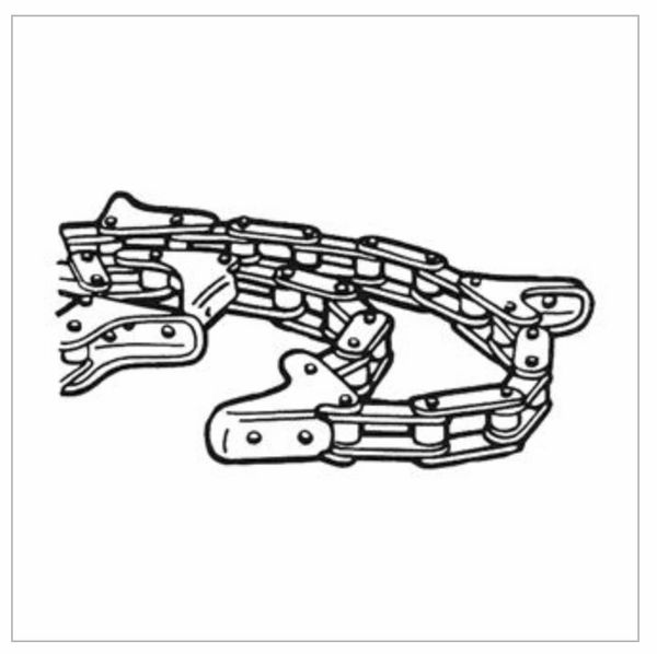AMF100 GATHERING CHAIN fits Massey Ferguson corn heads