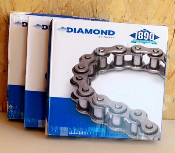 10' Diamond Roller Chain