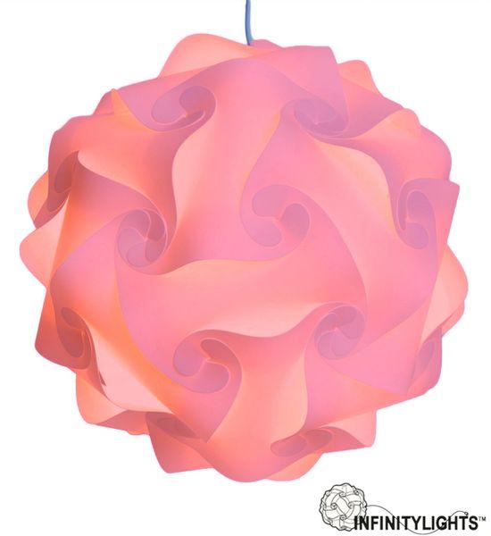 Light Pink Infinity Light