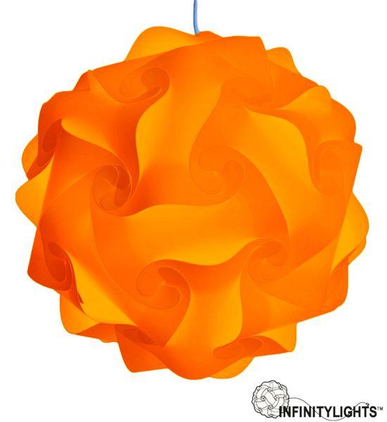 Orange Infinity Light