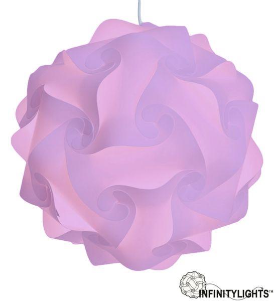 Light Purple Infinity Light