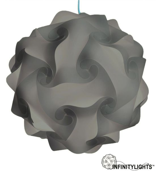 Grey Infinity Light