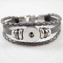 Leather Bracelet_KB0829-G