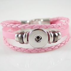 Leather Bracelet_KB0829-P