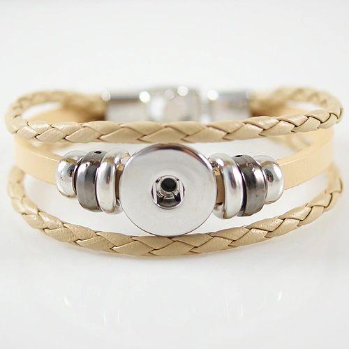 Leather Bracelet_KB0829-BE