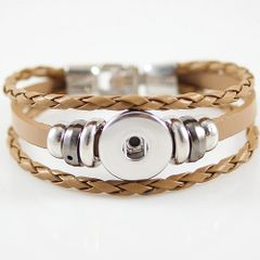 Leather Bracelet_KB0829-K